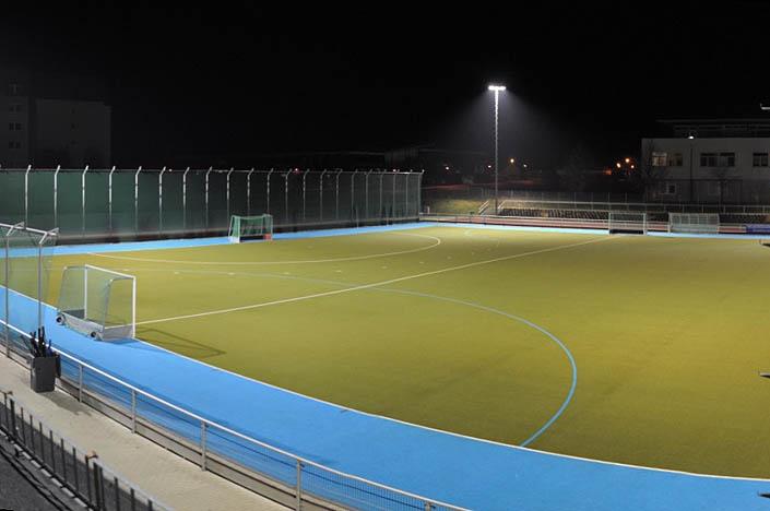 CoronaVirus: Hockey-Kunstrasen für aktiven Sport unter Auflagen geöffnet
