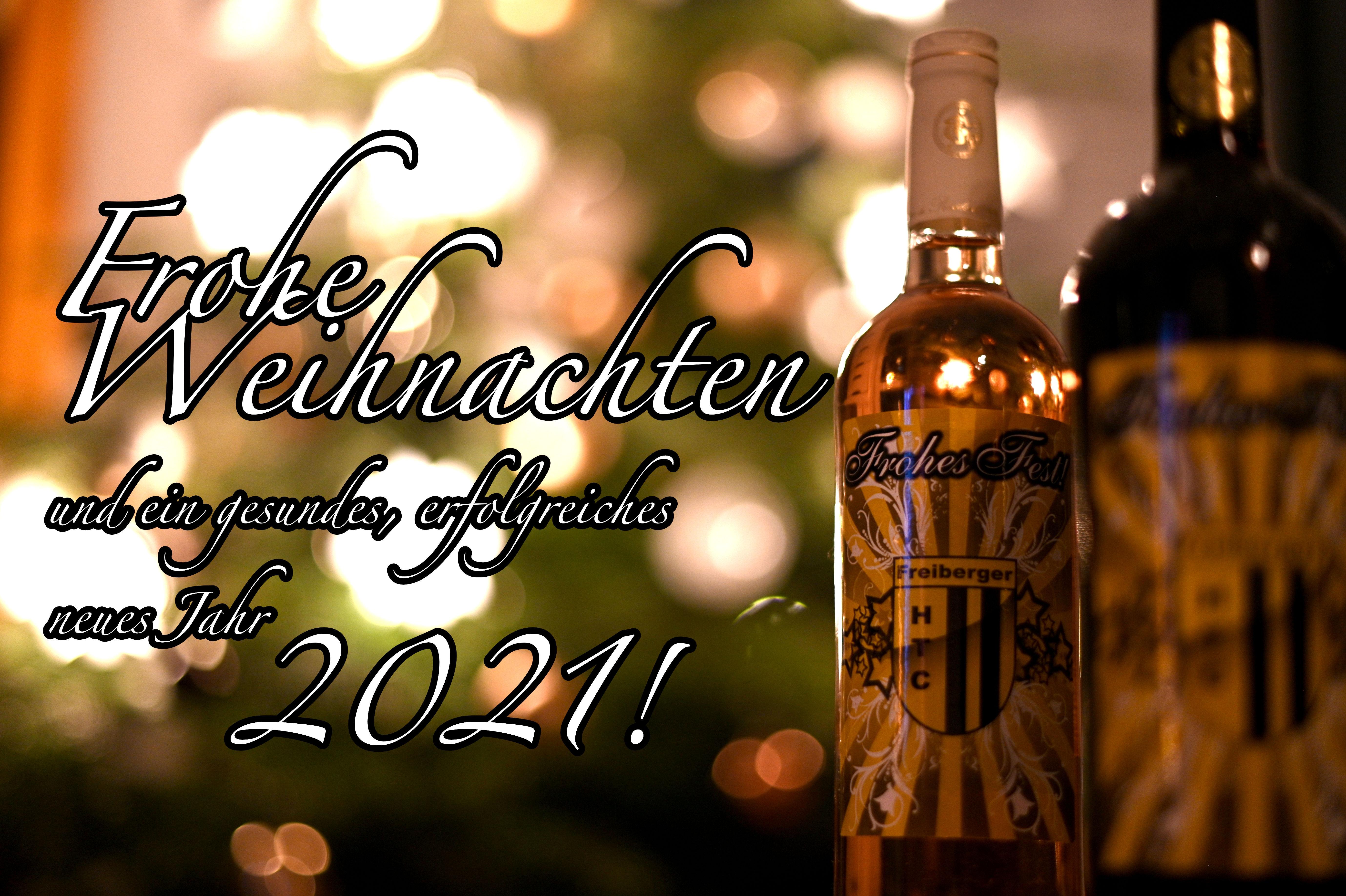 Frohe Weihnachten und guten Rutsch nach 2021!