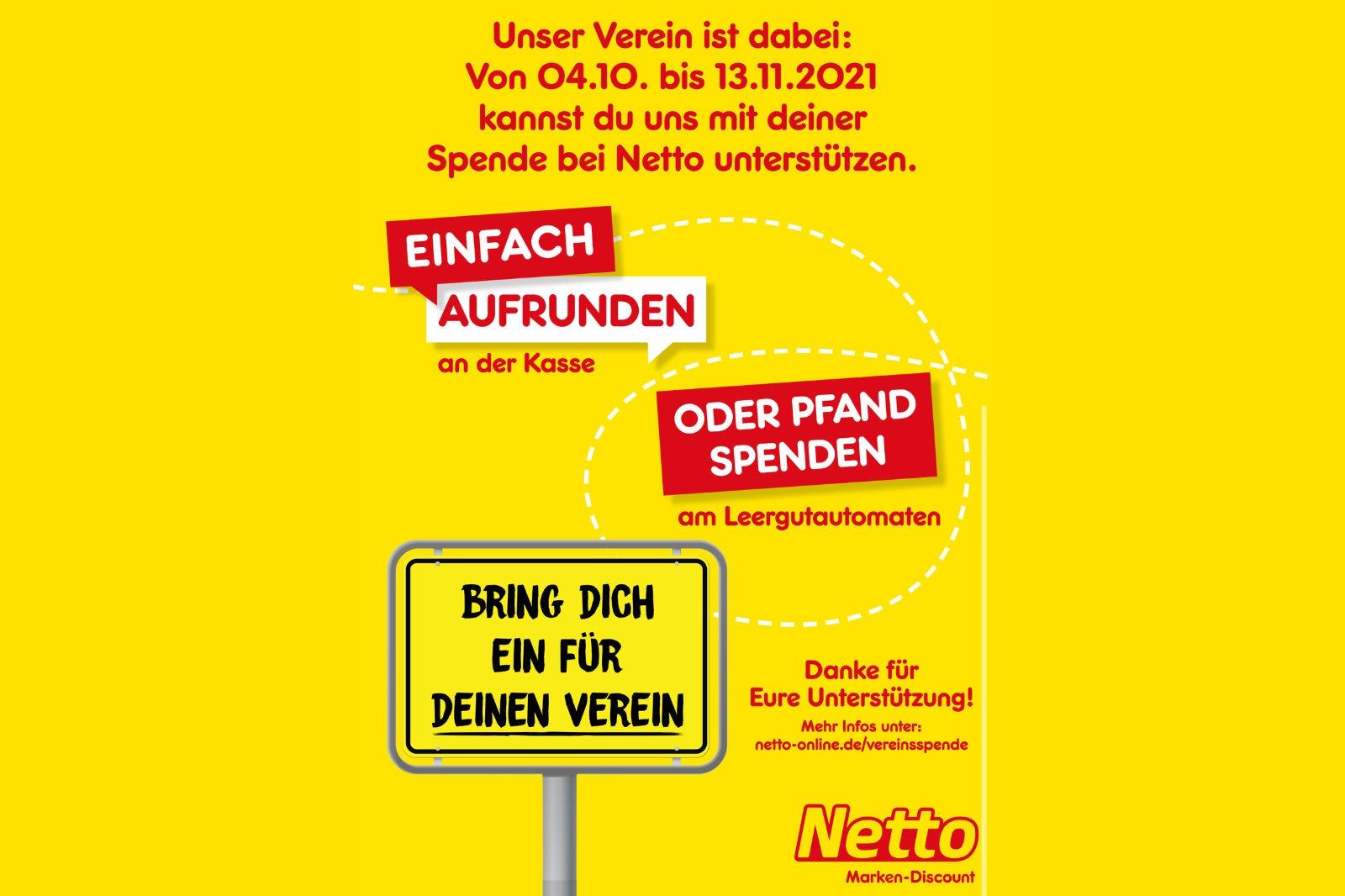 FHTC gewinnt bei Netto-Aktion 500 € und hofft auf Unterstützung